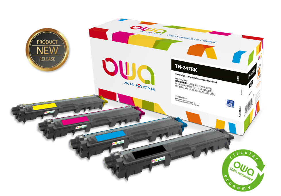 What's new in the OWA range of laser cartridges - March 2020
